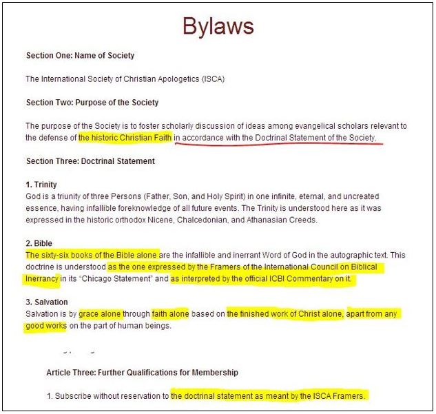 ISCA.BYLAWS