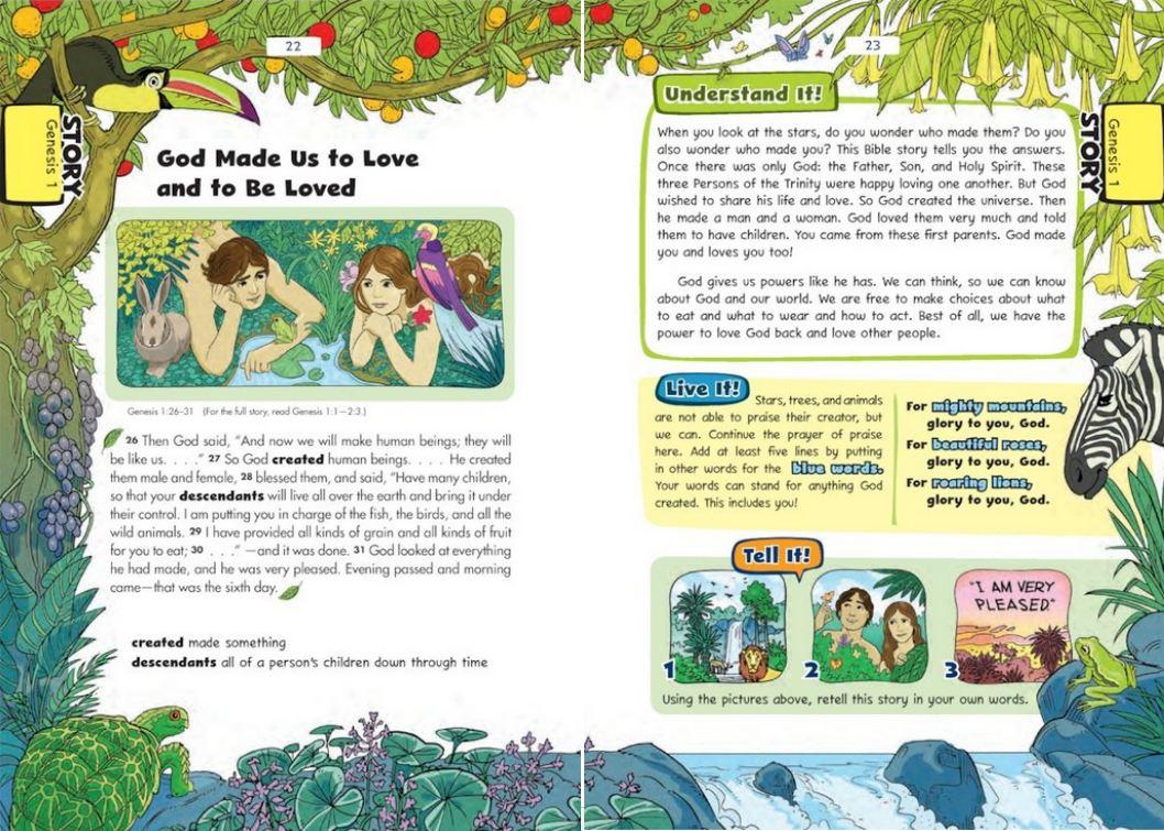 choosing a children u0027s bible douglas beaumont